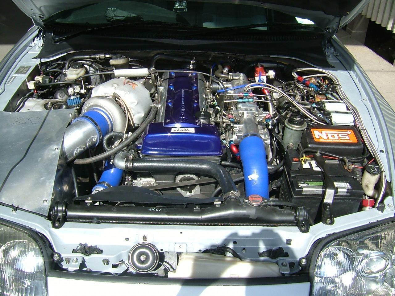 Justin Engine on Toyota Supra Fuel Filter
